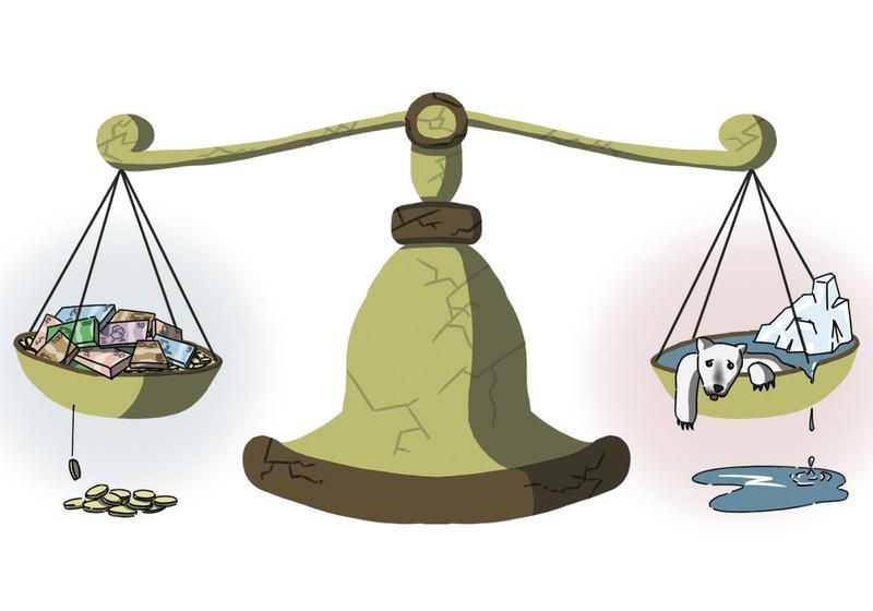 Economy vs Ecology - essay